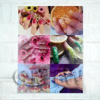 1/12th scale High Impact Nail Art Wall Display (FNB01)