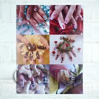 1/12th scale High Impact Nail Art Wall Display (FNB02)
