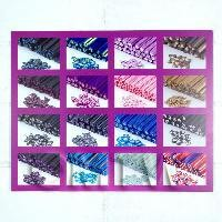 1/12th scale High Impact Nail Art Wall Display (FNB04)