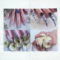 1/12th scale High Impact Nail Art Wall Display (FNB13)