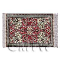 Dolls House Mini 17th Century Rectangular Carpet / Rug (17MINI01)