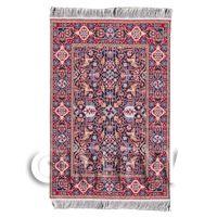 Dolls House Medium 17th Century Rectangular Carpet / Rug (17MR04)