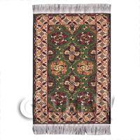 Dolls House Small 17th Century Rectangular Carpet / Rug (17SR06)