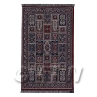 Dolls House Medium Rectangular 18th Century Carpet / Rug (18MR02)