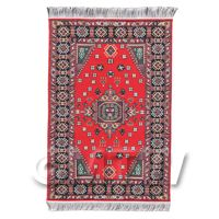 Dolls House Medium Rectangular 18th Century Carpet / Rug (18MR03)