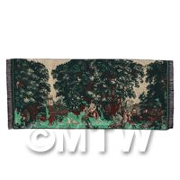 Dolls House Miniature Woodland Scene Tapestry (18TAP01)