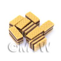 Dolls House Miniature Bakery Sweet Toffee Wafer