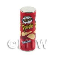Dolls House Miniature Tube Of  Pringles Original