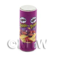 Dolls House Miniature Tube Of Pringles Salsa Flavour