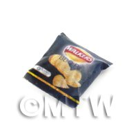 Dolls House Miniature Packet Of  BBQ Flavour Walkers Crisps