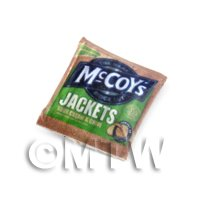 Dolls House Miniature McCoys Jackets Sour Cream And Chive Crisps