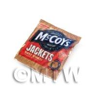 Dolls house Miniature  McCoys Jackets  Beef Chilli  Crisps