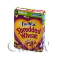 Dolls House Miniature Nestle Fruitful Shredded Wheat