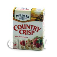 Dolls House Miniature Jordans Country Crisp.