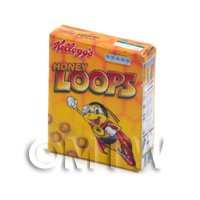 Dolls House miniature Kelloggs Honey Loops