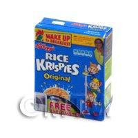 Dolls House Miniature Kelloggs Rice Krispies