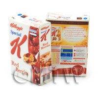 Dolls House Miniature Kelloggs Special K Cereals