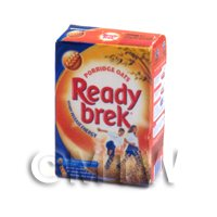 Dolls House Miniature Box Of Ready Brek