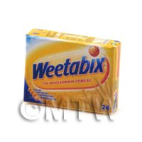 Dolls House Miniature Box Of Weetabix