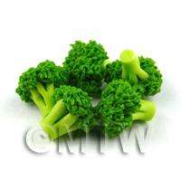 Dolls House Miniature Handmade Broccoli Floret