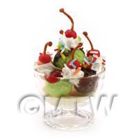 Miniature Mixed Ice Cream Cherry Surprise To Share