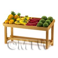 Dolls House Miniature Fully Stocked Fruit Stall