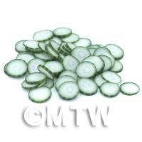50 Cucumber Cane Slices (NS10)