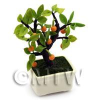 Dolls House Miniature Bonsai Orange Tree