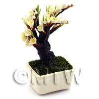 Dolls House Miniature Bonsai Lilac Style Tree