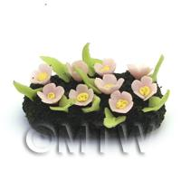 Dolls House Miniature Small DIY Flower Bed (DIY12)