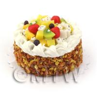 Dolls House Tropical Fruit Salad Gateaux