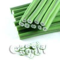 1/12th scale Highly Detailed Green Apples Nail Art Cane (NC60)