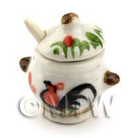 Dolls House Miniature Cockerel Soup Terrain and Ladle