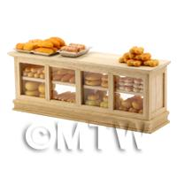 1/12th scale - Dolls House Miniature Bakery Display Cabinet