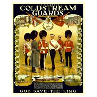 Dolls House Miniature - The Coldstream Guards - Miniature WWI Poster
