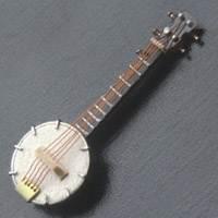 Dolls House Miniature Banjo