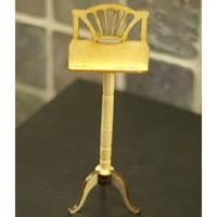 Dolls House Miniature Wood Music Stand