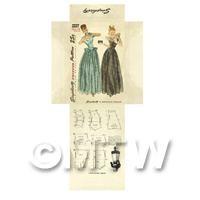 Miniature DIY Simplicity Dress Pattern Packet (DPD021)