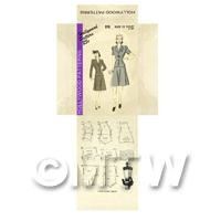 Miniature DIY Hollywood Dress Pattern Packet (DPD045)