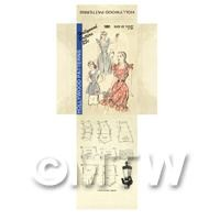 Miniature DIY Hollywood Dress Pattern Packet (DPD048)