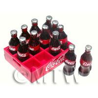 1/12th scale - Dolls House Miniature Dolls House Miniature Crate of Coca Cola
