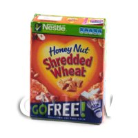 Dolls House Miniature Box of Kellogs Shredded Wheat