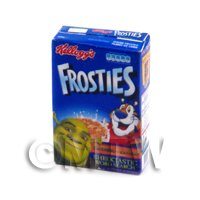 Dolls House Miniature Box of Kellogs Frosties