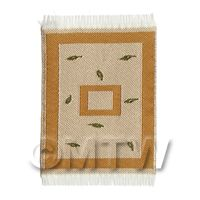 Dolls House Art Deco MINI Rectangular Carpet / Rug (admini02)