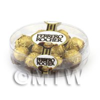 Dolls House Miniature Box of 10 Ferrero Rocher in box