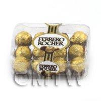 Dolls House Miniature Box of 12 Ferrero Rocher in box