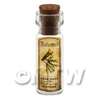 Dolls House Apothecary Bladderwrack Herb Short Colour Label And Bottle
