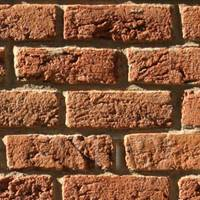 Pack of 5 Dolls House New Rough Brown Brick Pattern Cladding Sheets