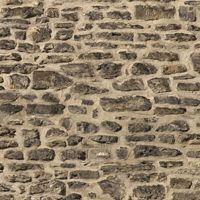 Pack of 5 Dolls House Small Dark Stone Wall Paper Sheets
