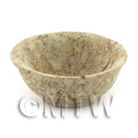 28mm Dolls House Miniature Stoneware Deep Bowl